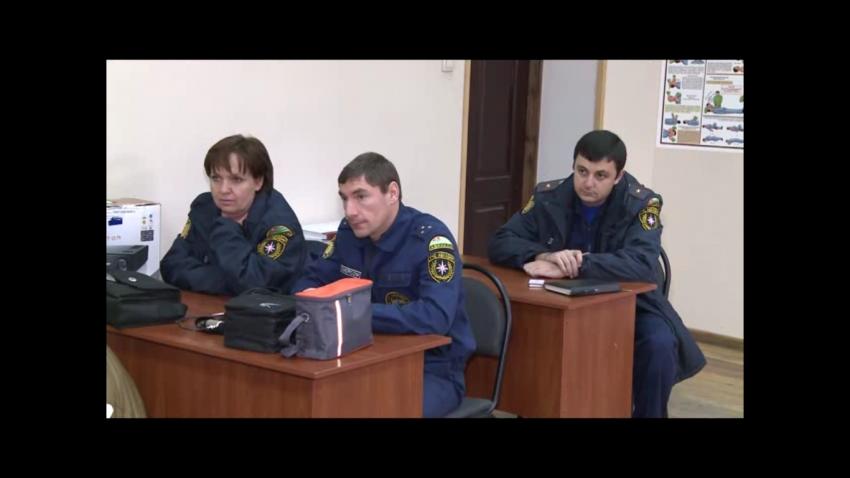 Лекции сотрудников государственной пожарной службы МЧС России.
