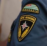 Сотрудники МЧС Абхазии были задействованы в оперативных мероприятиях силовых структур республики, организованных после получения сигнала о наличии взрывоопасного предмета в одном из отделений «Гарант-банка»